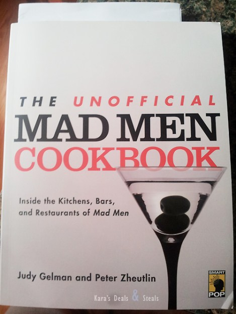 Unofficial Mad Men Cookbook Giveaway – Over