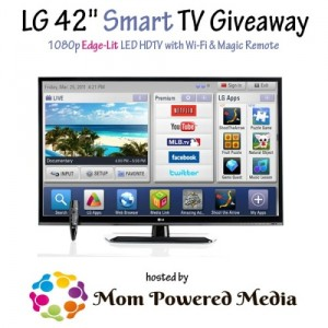LG Smart Television Giveaway – Over