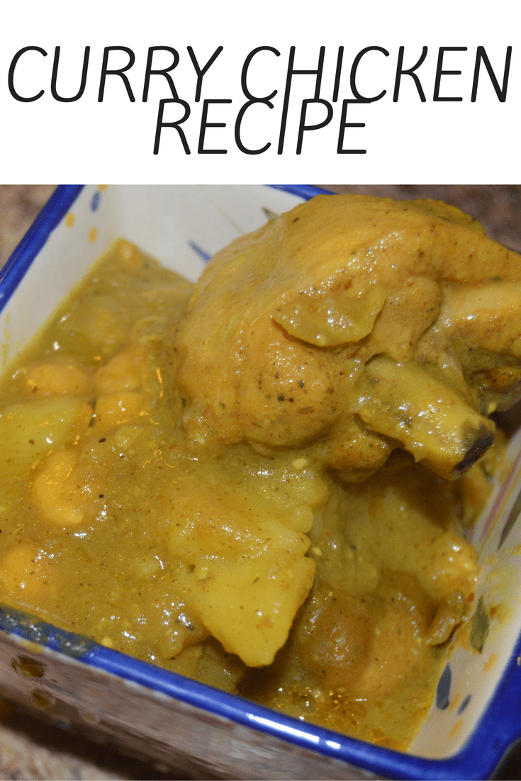 My Curry Chicken Recipe