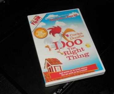 Cocka Doodle Doo The Right Thing DVD Giveaway