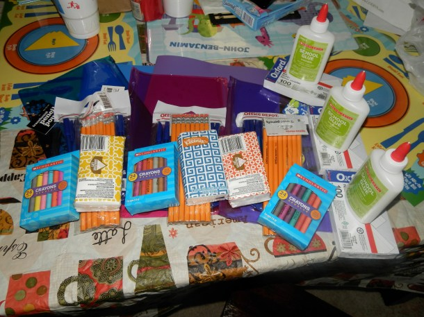 I got all these items for only $0.34 cents out of pocket, most of which was tax.  23 items total.