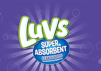 New Luvs Ultra Absorbent Diapers #TheClueIsInTheBlue