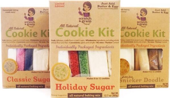 Bake Like A Pro with Scratch and Grain Cookie Kits