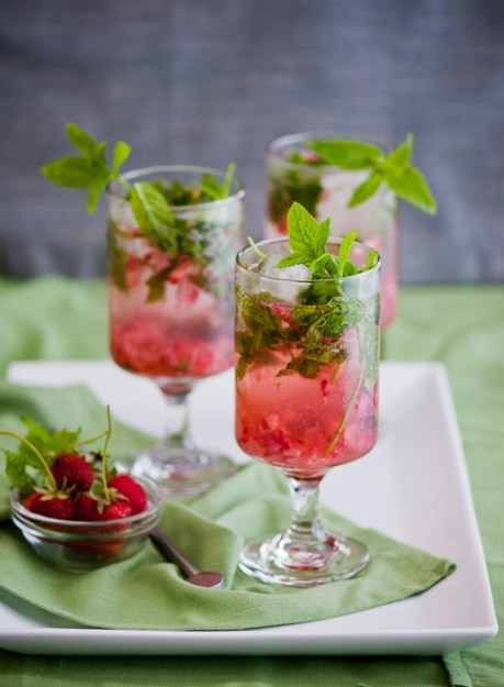 Strawberry-Mojito