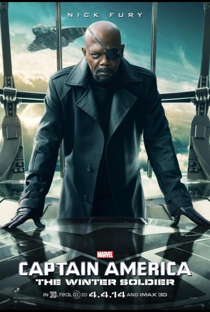Nick Fury Character Poster