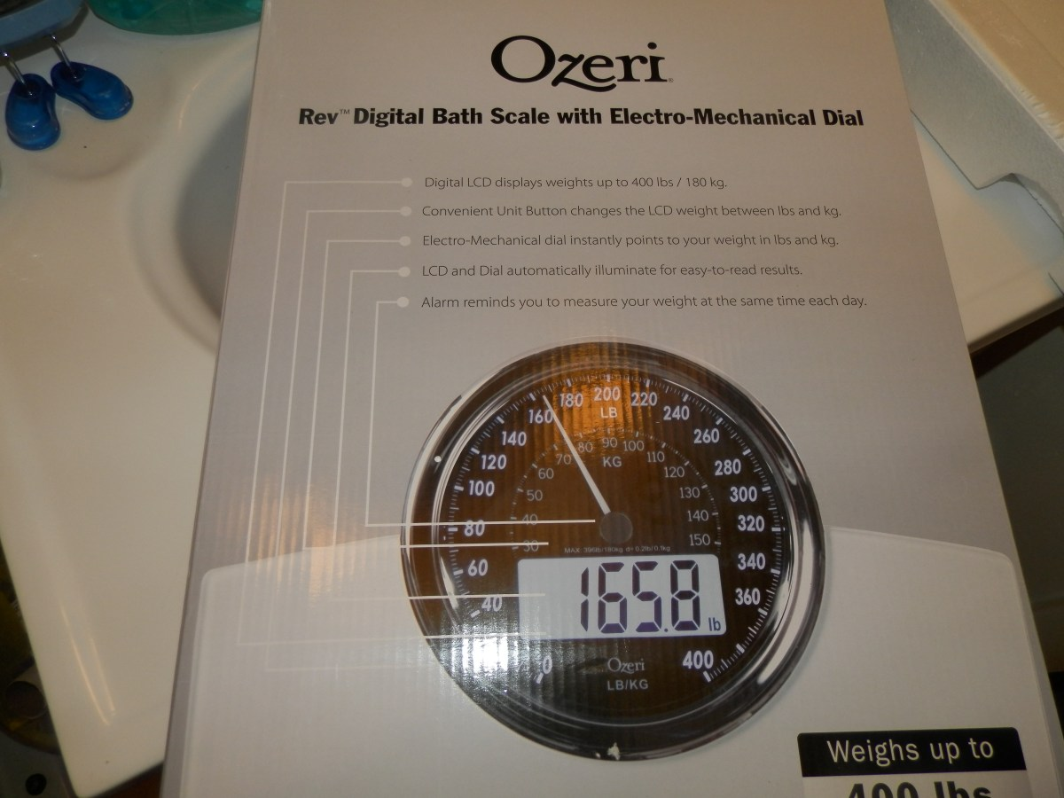 ozeri rev digital bathroom scale review - nicki's random musings