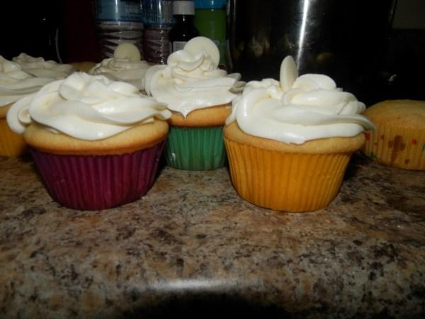 White Velvet Cupcakes