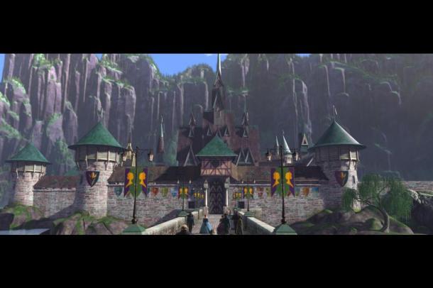 The kingdom of Arendelle