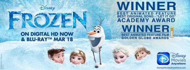Frozen Crosses the One Billion Dollar Mark at the Worldwide Box Office