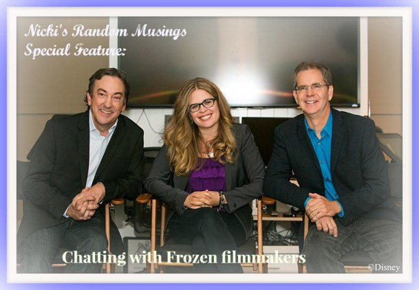 Chatting with Frozen Filmmakers