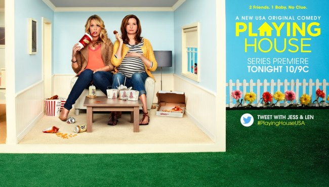 Playing House Premieres on USA Network Tonight