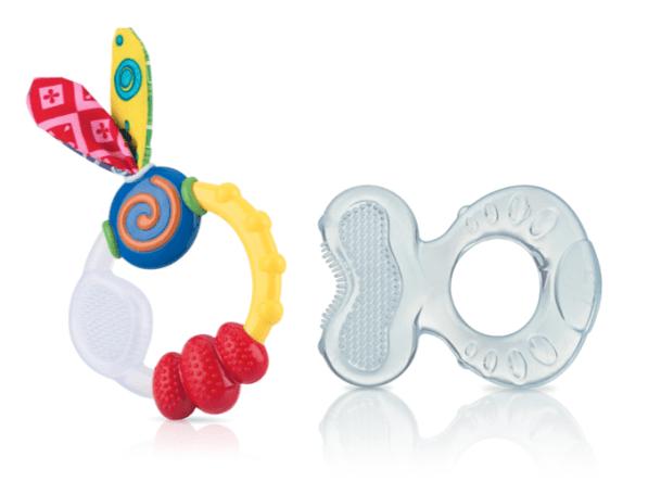 Wacky Teething Ring & Teethe-eez Teether Set Review
