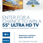 Ultra HD Events at Best Buy Every Saturday @BestBuy #UHDatBestBuy