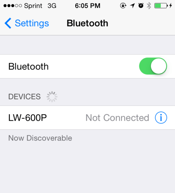 To connect via iPhone.  Go to your settings, general, then bluetooth to turn on your bluetooth.