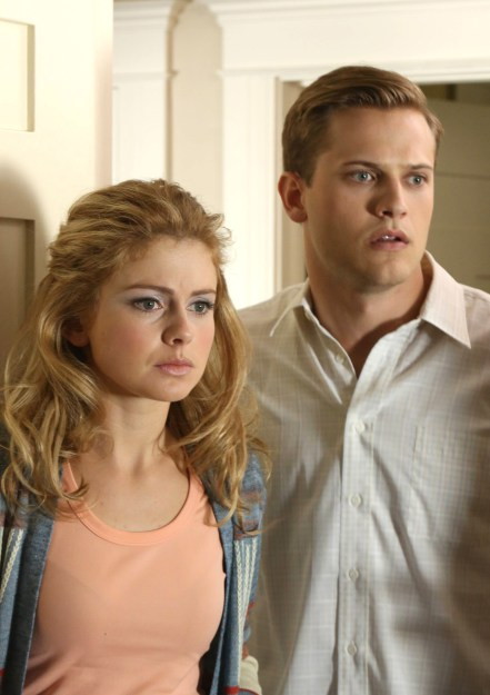 "Rose McIver (""Cathy Dollanganger"") and Wyatt Nash (""Christopher Dollanganger, Jr."") star in Lionsgate Home Entertainment's PETALS ON THE WIND."