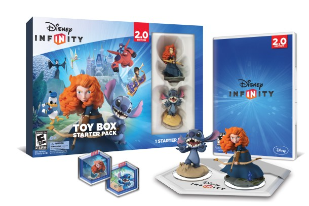 disney infinity toy box starter pack - agnostic