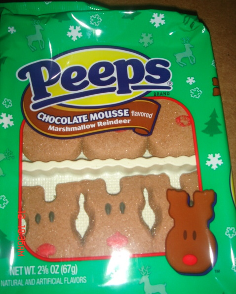 PEEPS Chocolate Mousse Flavored Marshmallow Reindeer