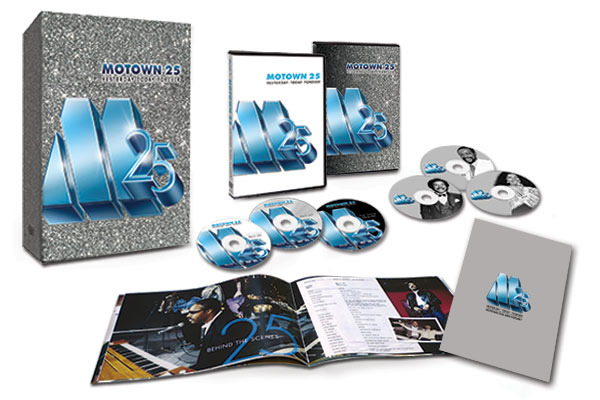 Give the Gift of the Moonwalk with Motown 25 DVDs