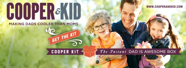 Cooper & Kid Out to Prove Dads Are Awesome