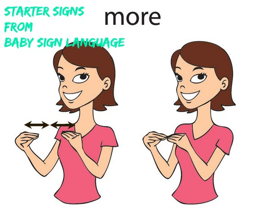 Starter Signs from Baby Sign Language