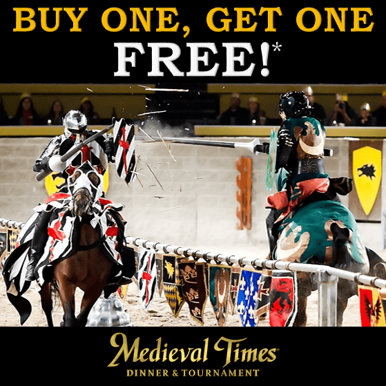 Spring Break Specials at Medieval Times