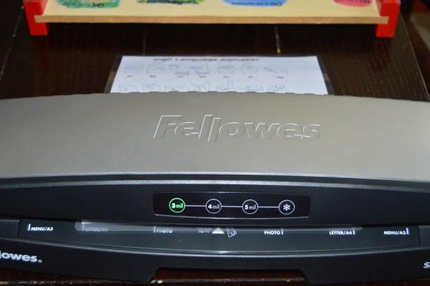 Fellowes Laminator (12)