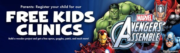 Lowe's Build & Grow Avengers Build