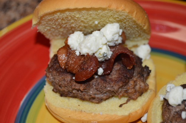 Bacon Blue Cheese Burger Sliders (13)