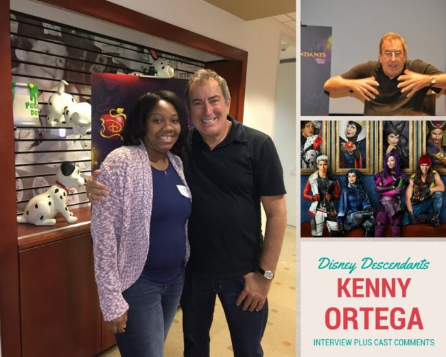 Kenny Ortega on Disney Descendants #DescendantsEvent