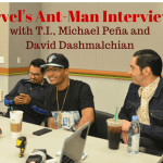 Marvel Ant-Man Interview with T.I., Michael Peña, and David Dastmalchian #AntManEvent