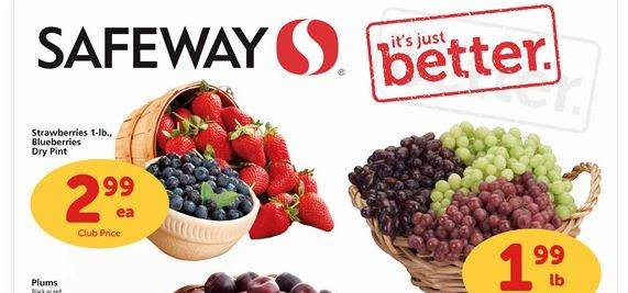 safeway berries sale