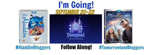 Heading to California for Tomorrowland, Aladdin and Disneyland #TomorrowlandBloggers #AladdinBloggers