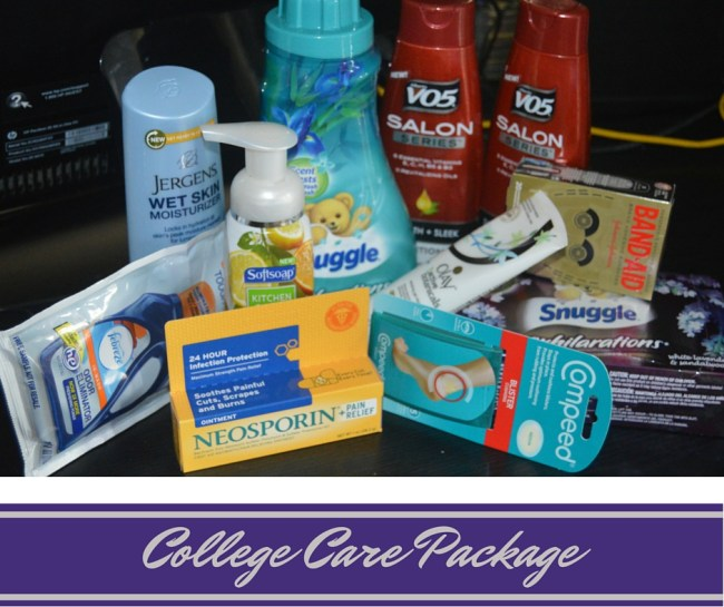 Items to Include in a College Care Package