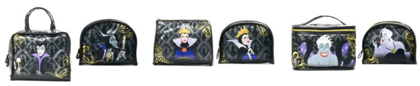 disney villains cosmetic bags