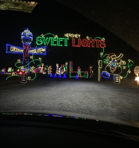 Hershey Sweet Lights Entrance