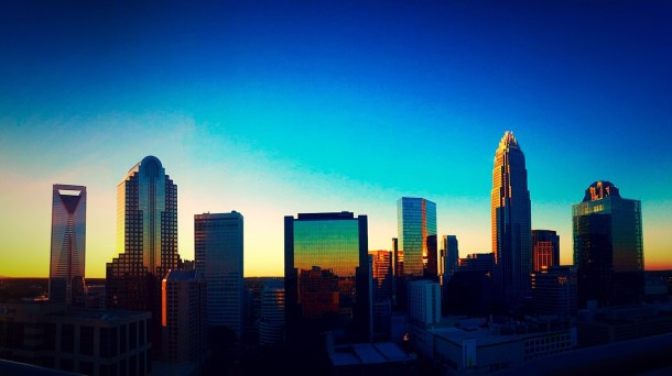 Charlotte at Sunset