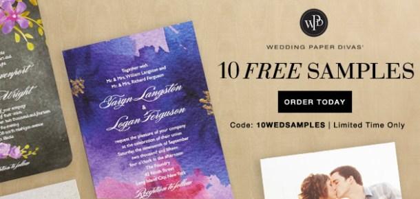 Wedding Paper Divas Free Samples Coupon