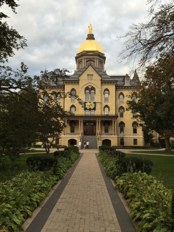 Notre Dame Admissions