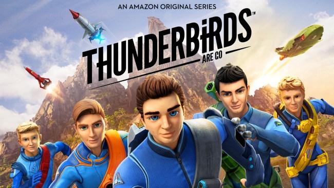 Stream Amazon's Original Series Thunderbirds Are Go Now