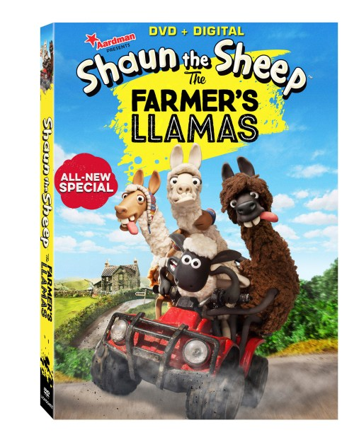 Shaun the Sheep: The Farmer's Llamas Coming to DVD