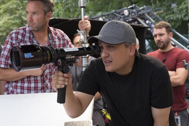 Captain America: Civil War Director Joe Russo on set. Ph: Zade Rosenthal ©Marvel 2016