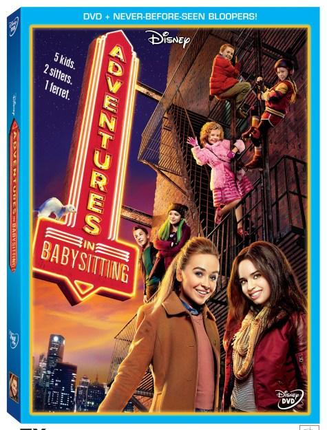 Adventures In Babysitting Arrives on DVD Today #AdventuresinBabysitting