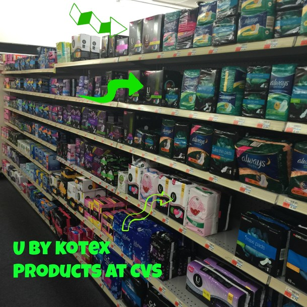 U by Kotex CVS