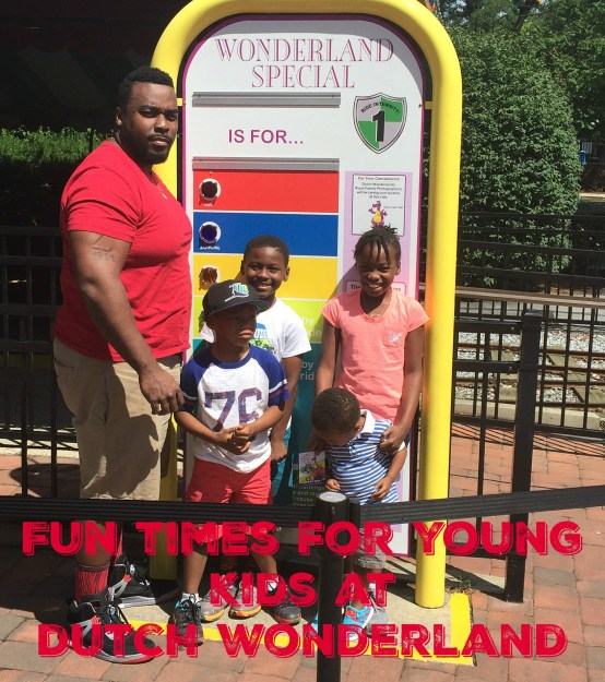 Fun Times for Young Kids at Dutch Wonderland #DutchWonderland #Travel