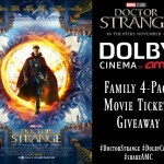 Marvel's Doctor Strange Movie Ticket Giveaway with #DolbyCinema at AMC #ShareAMC