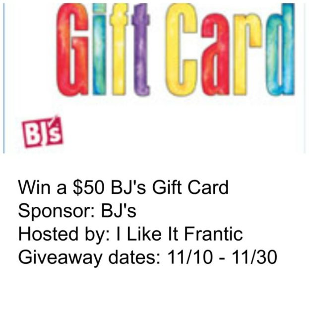 BJ's $50 Gift Card Giveaway