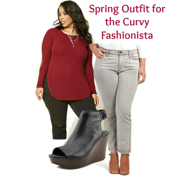 Plus Size Spring Outfit for the Curvy Fashionista