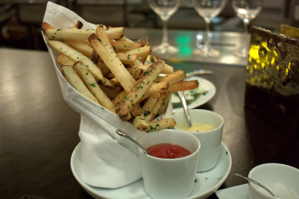 cut fries