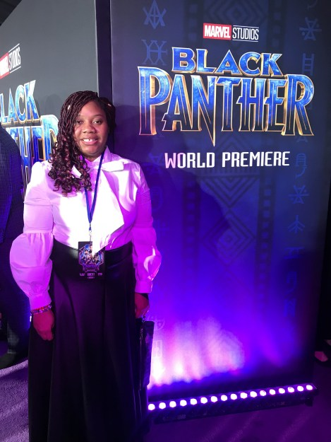 My Black Panther Red Carpet Experience #BlackPanther #BlackPantherEvent