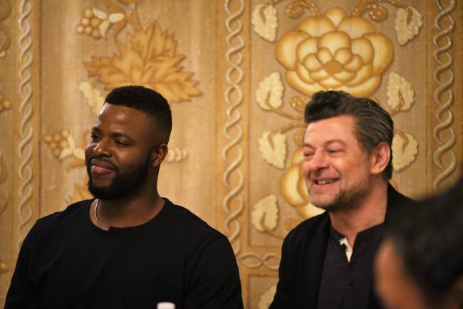 Chatting With Andy Serkis and Winston Duke About Black Panther #BlackPantherEvent #BlackPanther